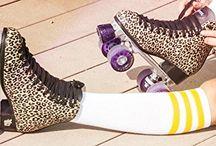 mes patins à rouletes