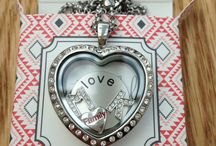 Memory Locket ideas / Beautiful personalised pendants - fill with charms that mean the most to you. Wear your story, share your story!