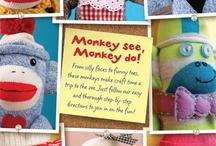 sock monkeys / by Claire Byars