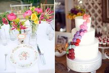Delicious Wedding Cakes / Delectable, edible works of art in the form of wedding cake.