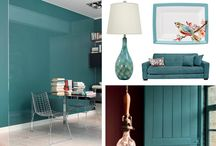 Color of the Year 2014 | Private Lagoon / Private Lagoon was the color chosen by Dulux as the color of the year for 2014 #coloroftheyear #coty #privatelagoon #teal / by Kate | Sensational Color
