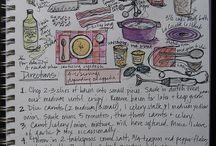 Div tegning, form og farge
