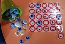 Connaissance de l'alphabet