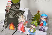Christmas-vánoce z papíru
