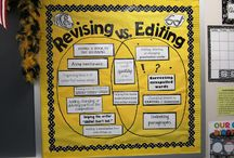 Revision v. Editing / Revision makes a piece sound better; editing makes it look better.