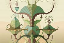 Illustrations & posters / Beautifull ilustrations and kewl posters