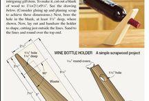 držák lahve na víno
