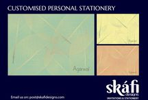 Stationery by Skafi Designs / Personalised stationery for your everyday needs