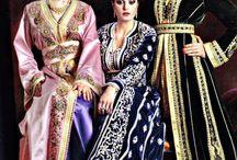 Moroccan  caftan dresses
