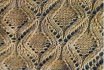Knitting patterns / Knitting patterns and ideas. Strikkeopskrifter & mønstre. Узоры и инструкции вязания спицами.