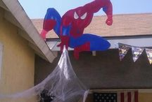 Parker's Spiderman party