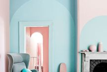 PASTEL | PINK AND PALE BLUE / Everything in pastel  :-)