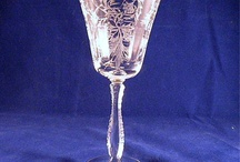 Dishing it out - beauty in the craftsmanship / One of my hobbies - love the beauty of antique glass and china / by Sue Tasker