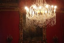 Chrystal chandelier