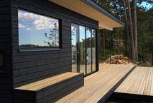 Terrasse hytta