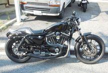 【FOR SALE】2002 Harley Davidson XL1200S Sportster / 島県廿日市市のハーレーカスタムショップモミアゲスピード モーターサイクルズ。 モミスピ製作のカスタムバイクを販売!速く楽しくカッコ良くの3拍子揃ったモミアゲハンサム6号をどうぞ!