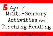 multisensory reading