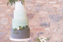 Lavender and Green styled shoot