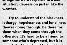 Depression, Mourning, Sadness / If you haven't felt the most painful emotion and lived the most hurtful moment of your life called DEPRESSION, then there's absolutely no words to describe it