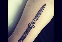 Knife Tattoos