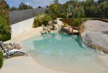 piscina e áreas externas