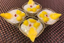Navratri Special / Sago Mango Pudding / Mango kheer  -Vegan, yes dairy milk not used - Gets ready in 15 minutes  - Very Creamy - Ideal for any day - Super ideal for FASTS - Mangoes add the twist    https://www.samirasrecipe.com/sago-mango-pudding-rich-creamy-dessert/