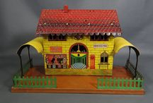 Tinplate trainstations