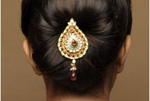 South asian bridal hairstyles. / inspiration for ur wedding