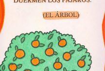 adivinanzas y trabalenguas  / by Alma Ludivina Villafaña Ezquivel