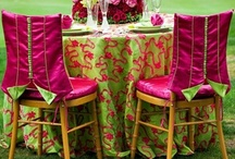 pink, green & monogrammed / by Tracy Barbour