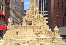 Sand Castles & Sculptures