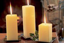 sviečky, svietidlá, lampáše / by Oĺga Chovanová