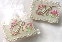 Cookies - Wedding / Anniversary / by Tara Breitner Lethbridge