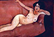 Nude Art. Nagość w sztuce. / Nudes by Modigliani, Schiele, Gauguin, Klimt and many grat artist. Akty malowane przez znanych artystów takich jak  Modigliani, Schiele, Gauguin, Klimt i inni