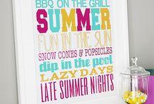 Seasons: Sizzling Summer Fun