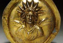 MA altın kabartma takı