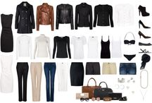 Back to the Basics / Creating capsule wardrobe, wardrobe essentials , inspirations