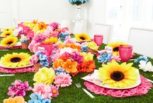 spring theme party / by Raynee Raymond