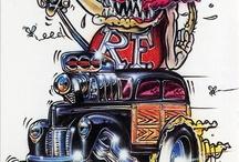 Rat Fink / Kustom Art