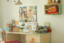 Atelier, Zonas de trabajo e inspiración / Luagares dónde trabajar es más fácil y estimulante!