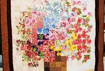 Watercolor quilts / Акварельные квилты