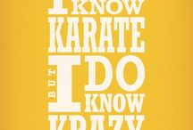 karate / by Carolyn Livingston