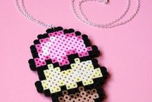 Hama mía!!!!!! / projects hama beads