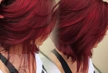 Short Red / Hair