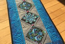 Free Motion Quilting Feathers
