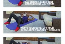 Biggest loser exercises at home / by Ashley B