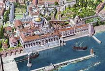 Reconstituiri de orașe antice și medievale.