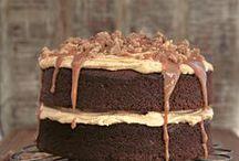 toffee caramel cake