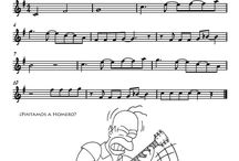 Musica de piano partituras