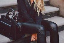 Girl In Black Inspo